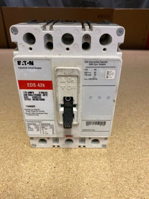 3 Pole Challenger C315 WARRANTY 15 Amp,240 VOLT Circuit Breaker