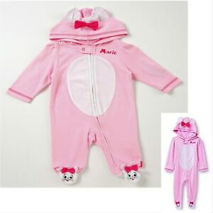 Disney Aristocats Marie Sleeper Size 6-9 Months Girl/'s NEW HTF