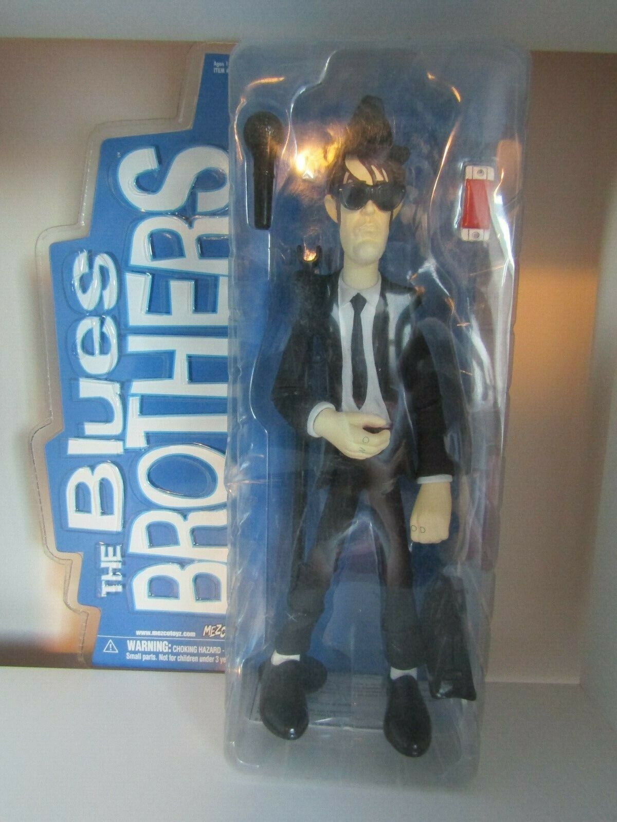 Blaus Brothers Elwood - 12  Action Figure - Mezco - New Un-opened Rare
