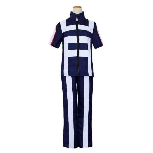 Women Men My Hero Academia Boku no Hero Cosplay Costume School Uniform Gym Suits