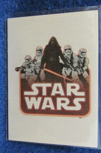 2015 Topps STAR WAR Journey To The Force Awakens CLOTH PATCH Insert  You Pick-1