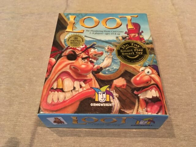 Loot Pirate Card Game by Gamewright Knizia