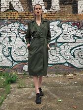 Regenmantel Raincoat rain trenchcoat 42 Mantel 60er True Vintage 60s olive