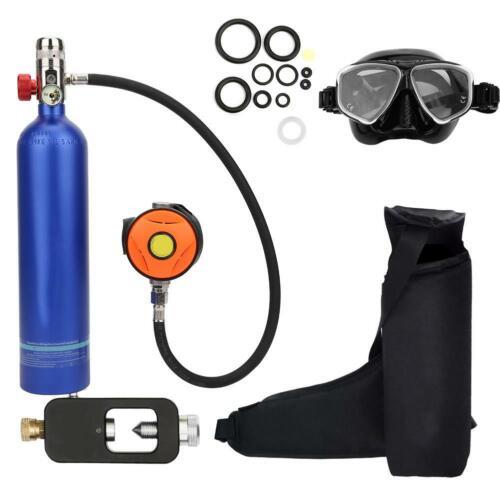 DEDEPU Diving Scuba Cylinder Oxygen Tank Atemschutzgeräteset