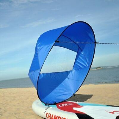 NEW 42'' Foldable Kayak Boat Wind Sail Sup Paddle Board Sailing Sailboat US