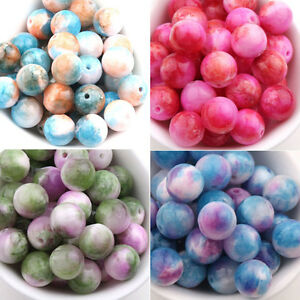 Wholesale-Stone-Round-Gemstone-Loose-Spacer-Beads-Jewelry-Making-6-8-10mm