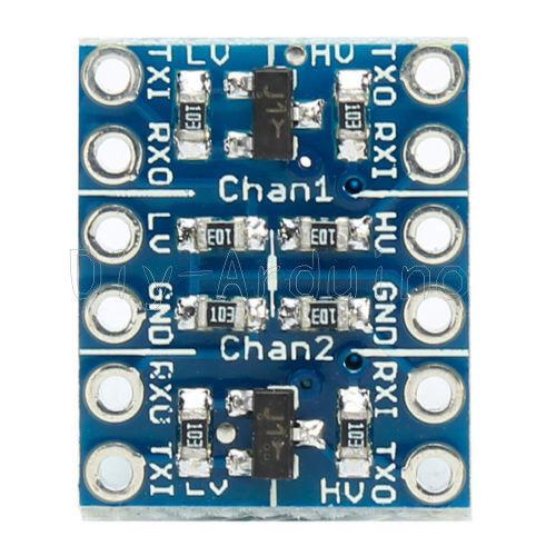 5PCS Two Channel IIC I2C Logic Level Converter Bi-Directional Module 5V to 3.3V