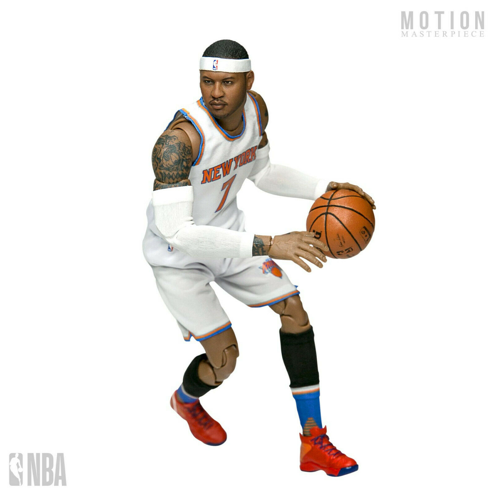 NBA - Carmelo Anthony 1 9th Scale Motion Masterpiece Action Figure (Enterbay)