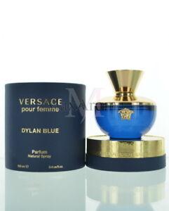 Versace Dylan Blue Pour Femme For Women Parfum Spray 34 Oz 100ml