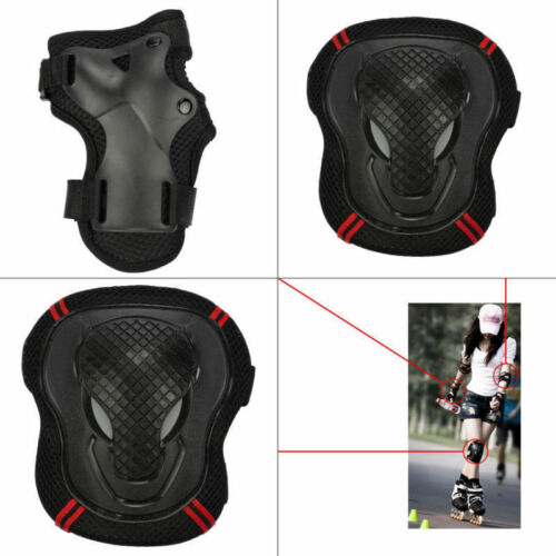 BMX Bike Knee Pads And Elbow Pads With Wrist Guards Protective Gear Kids Adults