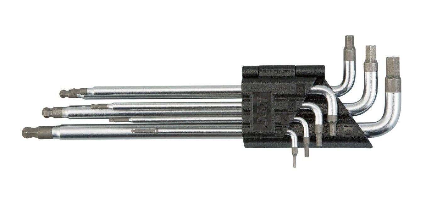 KTC BALL POINT HEX WRENCH 7pcs SET (1.5~6mm) HLDA2507