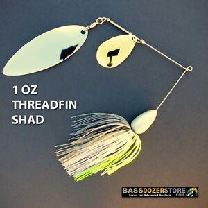 Bassdozer-spinnerbaits-BIG-WILLOW-INDIANA-1-oz-N-THREADFIN-SHAD-spinner-baits