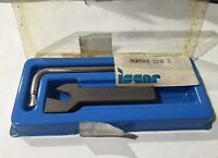 Iscar Sgthr 3/8- 3 Self Grip Tool Holder Carbide Inserts Turning Grooving