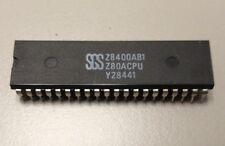 SGS Z8400AB1  Z80A RARE NEW OLD STOCK Z8400A