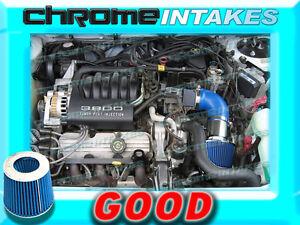 RED 94 95 96 1994 1995 1996 OLDSMOBILE CUTLASS CIERA 3.1 3.1L V6 AIR INTAKE KIT