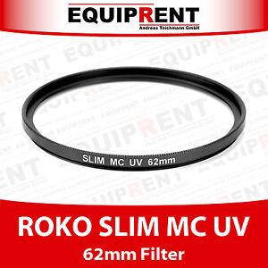 ROKO MC UV Slim Filter 62mm (EQA62)