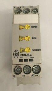 ETR4-69-A Timer Eaton-Moeller