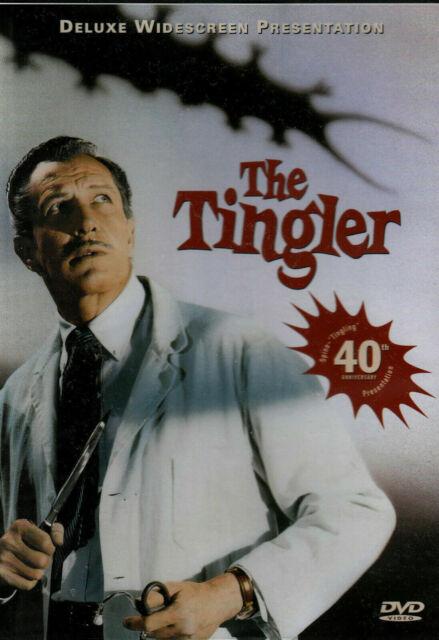 The Tingler - Vincent Price/ William Castle dvd Region 1 US release