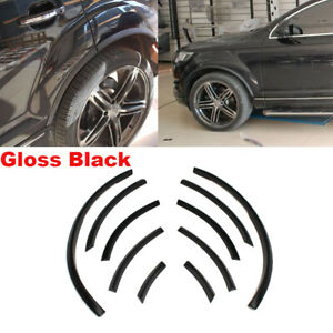 Gloss-Black-Fender-Flares-Cover-Wheel-Arch-Fit-for-Audi-Q7-S-Line-RSQ7-2006-2015