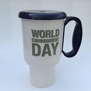 World Environment Day Budweiser Insulated Travel Mug 20 Oz Plastic Thermal USA