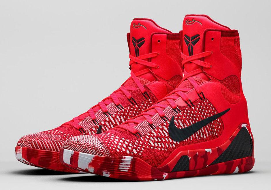 Nike Kobe 9 IX Elite Christmas size 10. 630847-600 jordan bhm beethoven