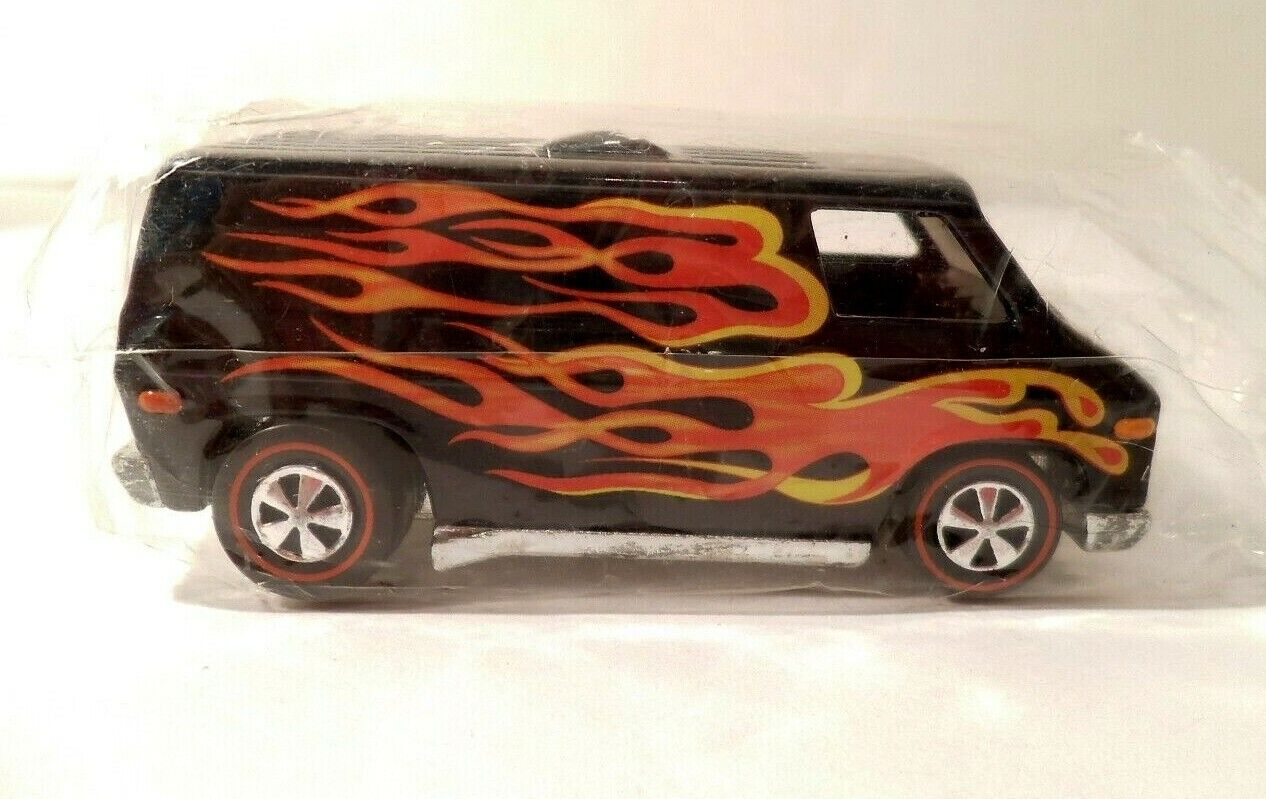 2003 Hot Wheels Convention Red Line Club Party '70's Super Van in Baggie