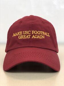 timeless design 37729 abf4c ... greece image is loading make usc football great again cap hat 8101a  411ea