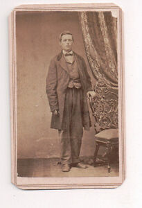 Vintage-CDV-Unknown-Man-Civil-War-Era