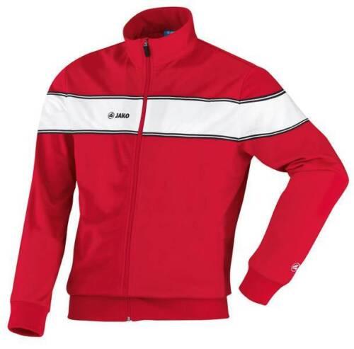 Jako Player Polyesterjacke Trainingsjacke rot-weiß Kinder Größe 116 NEU 26129