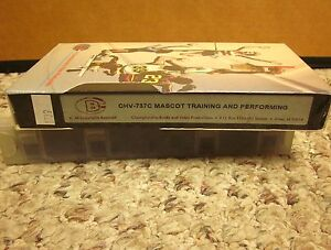 Details about MASCOT TRAINING performance skits High School Sports  instruction VHS cheerleader