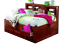 Grace-Full-Daybed-with-Bookcase-Headboard-Trundle-and-Three-Storage-Drawers thumbnail 3
