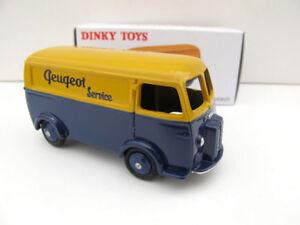 Dinky-Toys-1-43-escala-Diecast-Peugeot-D-3-A-Van-Car-Model-Minicar-vehiculos-de-juguete