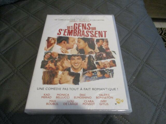 "DVD NEUF ""DES GENS QUI S'EMBRASSENT"" Kad MERAD, Monica BELLUCCI, Eric ELMOSNINO"