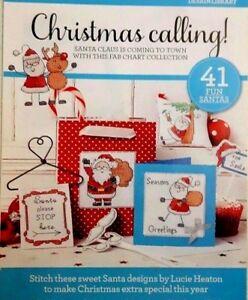 B-Christmas-cross-stitch-chart-Christmas-calling-41-charts-from-magazine