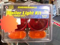 Boat Trailer Submersible Trailer Light Kit W/side Marker Lights 80-1286