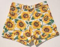 - Rrp $179 - Womens Stunning American Apparel High Waist Floral Shorts
