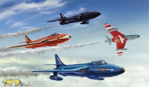 Aerobatic Teams 1:48 Italeri 2772 Hawker Hunter F.6//FGA.9