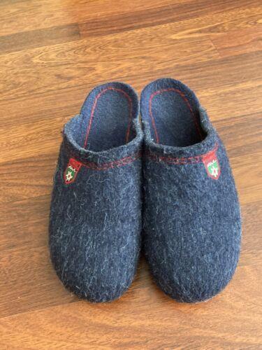 Rohde Clogs Ladies Slippers Mules Slippers Dark Bl