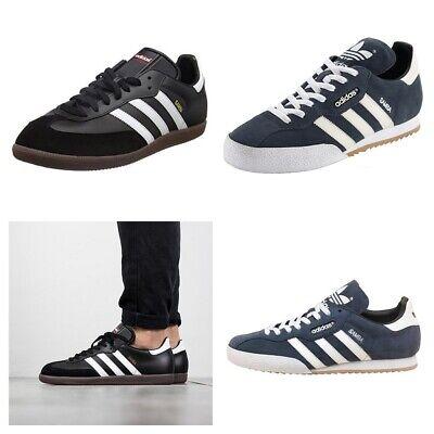 El cielo Misericordioso bomba  Adidas Originals Mens Samba Super Suede Trainers Lace Up Casual Shoes UK  sizes   eBay