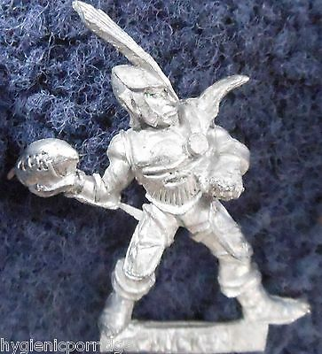 1988 Dark Elf Bloodbowl 2nd Edition Thrower 23 Citadel BB106 Team Elven Chucker
