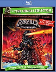 Godzilla 2000 vs Orga Bluray US VERSION & JAPANESE VERSION NEW! USA RELEASE!