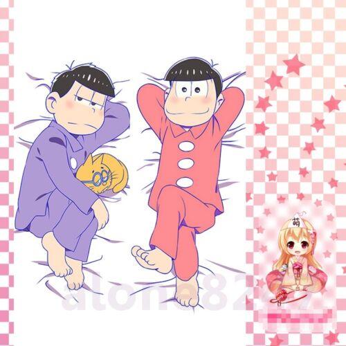"""Osomatsu Anime Dakimakura Otaku Hug Body Pillow Case 59/"""" MATSUNO ICHIMATSU Mr"""