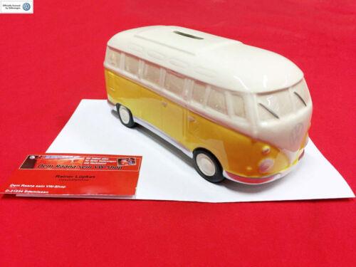 -071 Spardose VW Bus T1 gelb