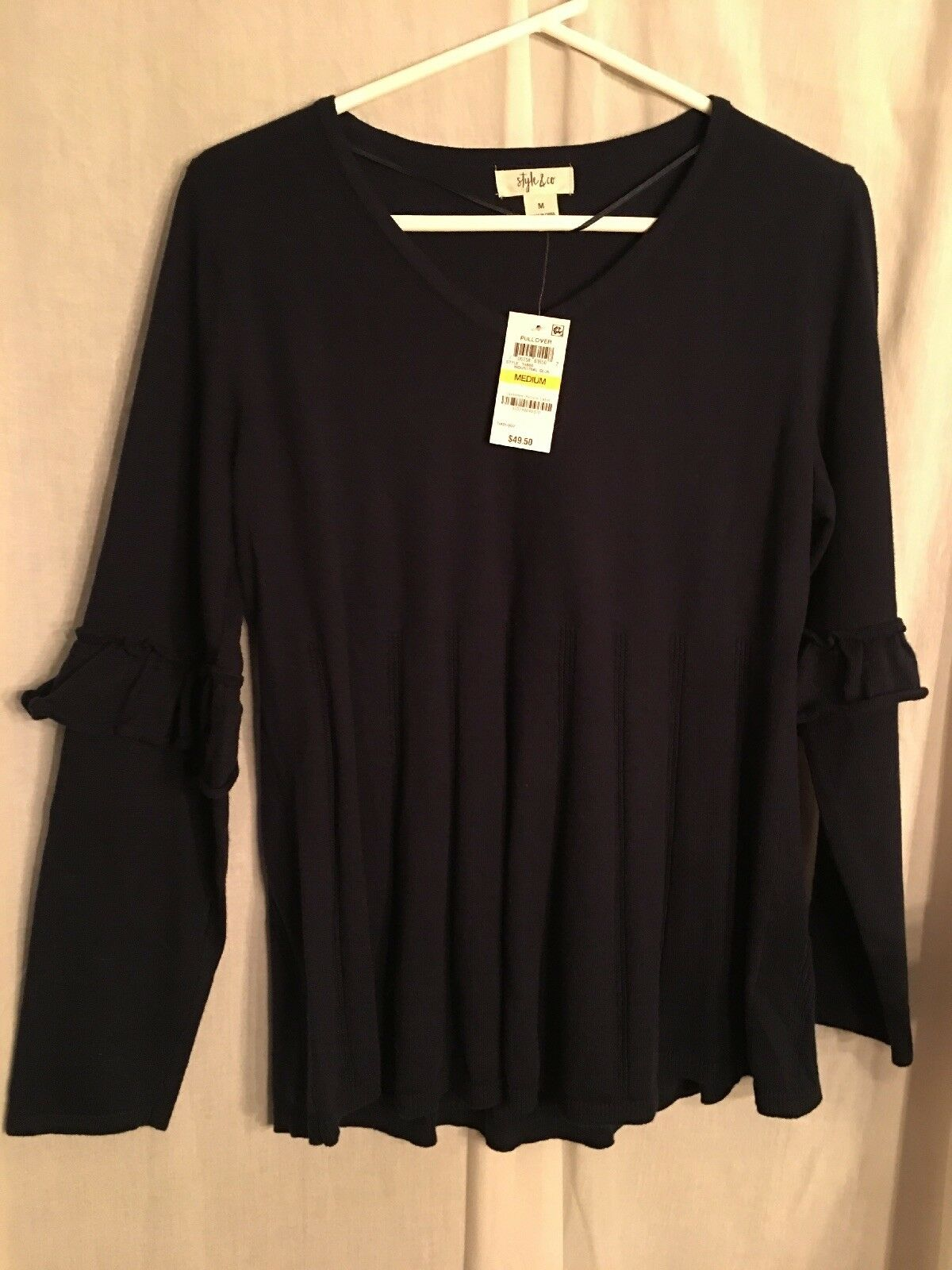 Style & Co Womens Sweater Size M