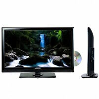 Portable 24 Hd Hi Def Tv And Dvd Player Combo With 12v Volt Car Cord