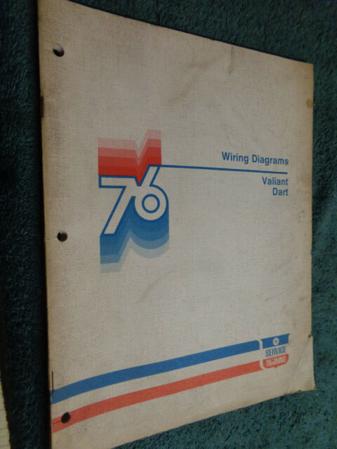 1976 Plymouth Valiant    Dodge Dart Wiring Diagram Shop