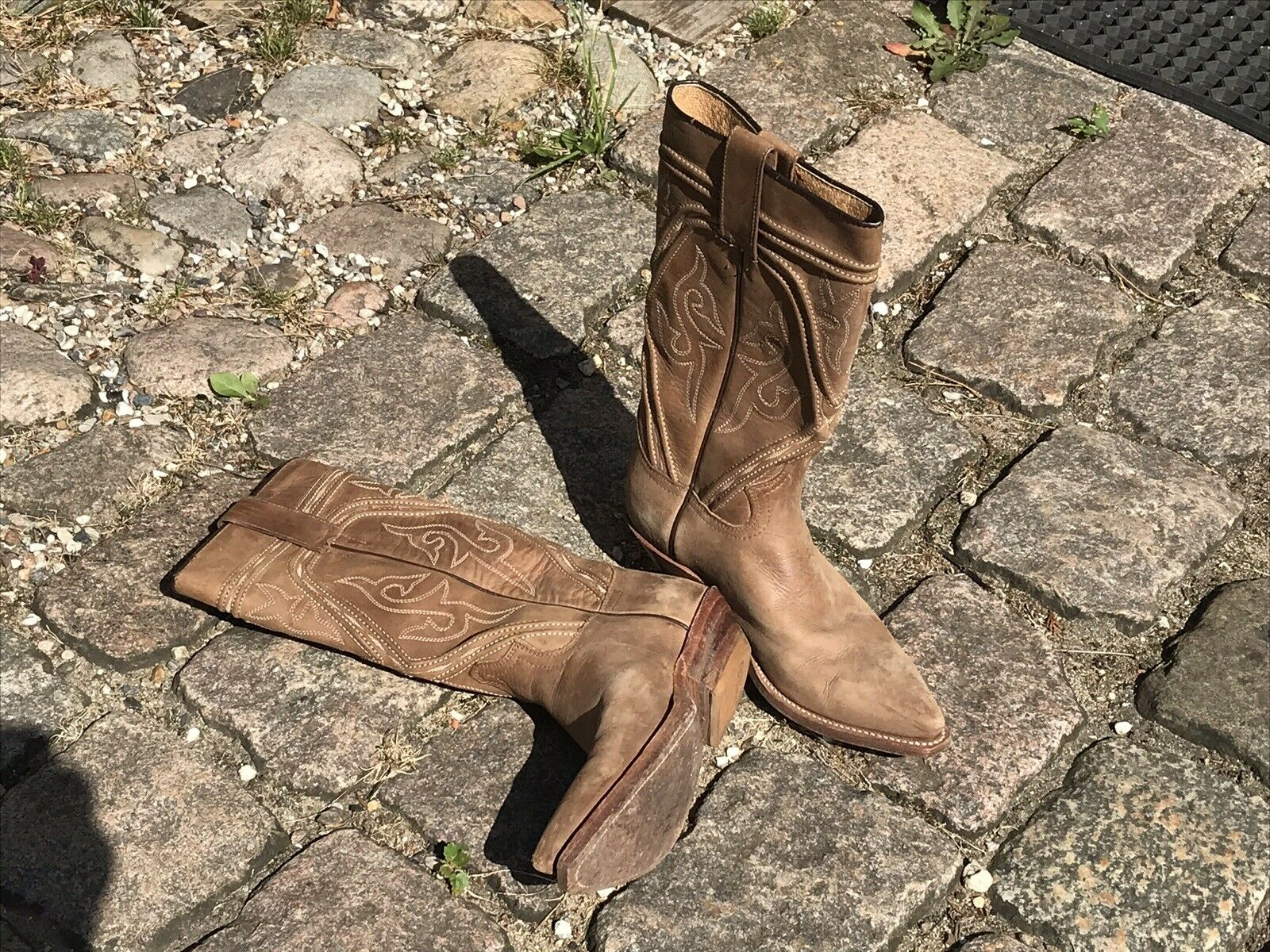 Sendra Gr. 4,5 Kaiman Caiman Cowboy Stiefel Biker Western Squerdance Stiefel USA