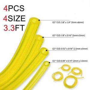4-Sizes-Petrol-Fuel-Line-Hose-Gas-Pipe-Tubing-For-Trimmer-Chainsaw-Blower-Tool