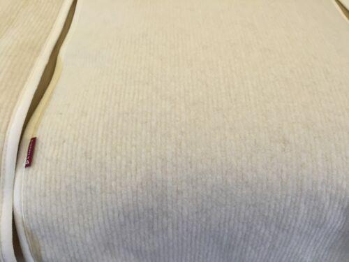 POLTRONA saver in ottica d/'onda Bianco 50x200 cm su lancio 100/% LANA