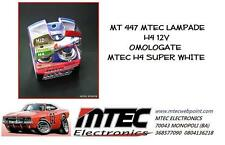 MT 447 MTEC LAMPADE XENON H4 12V OMOLOGATE MTEC H4 SUPER WHITE XENON HID BULBS